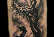 Tatuaże Drzewa