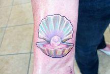 Tattoo schelp