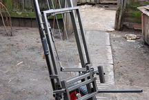 Crane, trolley lifter