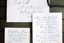 Calligraphy / Beautiful writing inspiration. The lost art of the written word.
