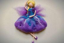 fairies / handmade felt fairies