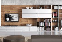 bibliotecas y tv