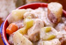 Chicken stew dinner tonight