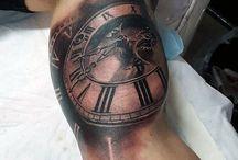 Tatuajes reloj de bolsillo