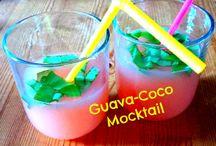 Mocktails & Cocktails / All kinds of delicious drinks