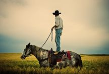 Cowboys and horses / by Christine Schoch