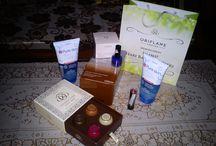 produk Oriflame / Tendercaregiftbox gratis