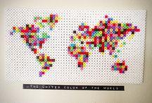 Perler Beads The World