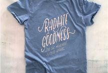 How To Radiate Goodness / What does it mean to Radiate Goodness? It means what you want it to mean. We created our popular Radiate Goodness tee as a reminder for all.