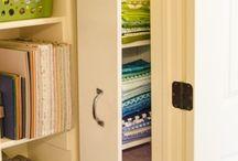 Crafty room/Organizing