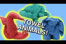 How to Make Towel Animals!