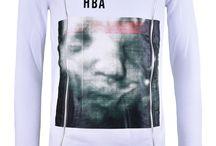 Hood By Air: White Long Double Zipper Sweater;  350€