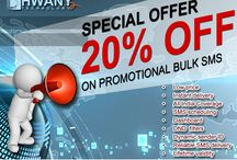 Promotional SMS service with 20% discount / Promotion plays a key role in the business world. Now messages are widely used to promote the brands and products.  Dhwany technology is offering promotional SMS service with 20% discount. If you want to take advantage of this offer please register on https://goo.gl/KudnNa