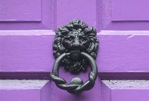 """Knocking on Heavens Door / """"Even a tin knocker will shine on a dirty door""""  Irish quote / by Jennifer Henderson"""
