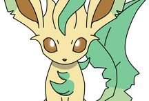 ♡Leafeon♡ / Leafeon is my number 12 favourite pokemon and my number 2 favourite eeveelution. I love her design ♡