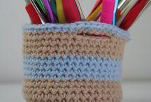 Crochet Baskets / Crochet basket ideas and inspiration