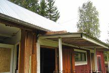 Talli - The horse stable / Puretaan, korjataan, rakennetaan - Taking down, repairing, constructing