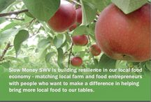 Slow Money South Willamette Valley (SWV) / bringing money back down to earth, localizing your economy and supporting local food and farming in your community.