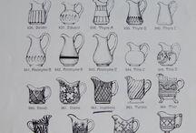 Tegninger glass