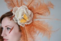 fascinators / handmade fascinators individually designed, to inspire your own bespoke order.