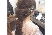 ヘアアレンジ* Wedding Hair Style