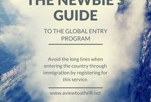 The Newbie's Guide to Travel / You've never traveled before and you've got questions.  Good, here are your answers! / by A View To A Thrill