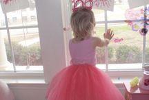 Tilda's ballet party