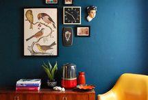 New Place - Guest Bedroom / Wood Craftsmen Midcentury Modern / by Ashley Christina Jones