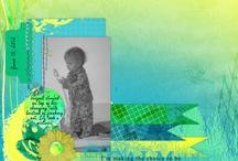 scrapbook inspiration! / by Molly Bennett