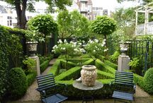 Outdoor Living Spaces, Gardens & Flowers / by Lil W