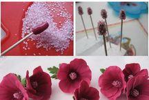 flores de goma