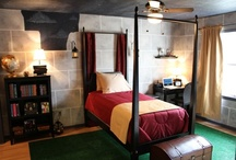 Harry Potter Bedroom / by Mistress Jennie