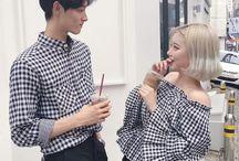 couple // fashion / couples fashion + friends fashion (matching)