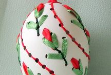 Embroidery eggs