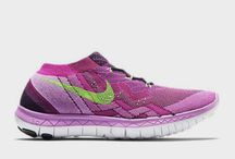 WOMEN'S NIKE FREE 3.0 FLYKNIT BLACK/FLASH LIME/RASPBERRY RED (718420-005)
