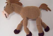 Crochet baby toys / Crochet