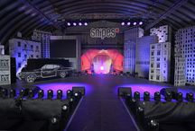 Neulant van Exel _ snipes familiy party / stage design for sean paul!