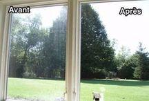 nettoyage des vitres