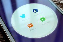 Mobile UI : Social Media