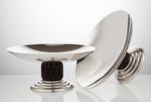 Art Deco Silver / Silver of the art deco period circa 1925-1945
