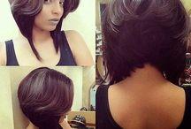 short bobs for black hair