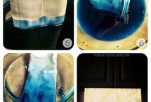 DipDye / painting fabric and clothes