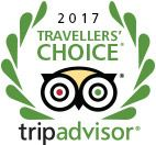 2017 Travelers' Choice Award Winner