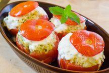 Zöldséges ételek