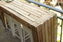 pallets ideas for small balcony