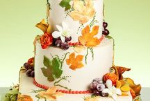 "Wedding Cake ""Autum/Fall"""