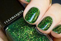 Uñas verdes - Green nails / Diseños de uñas color verde, combinadas, con accesorios y con mezcla de colores - Green nails design with colors and accesories