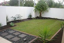 Ön bahçe düzenlemesi