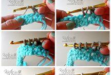 Crochet tips & charts