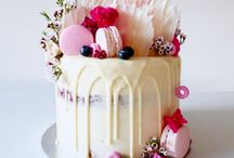 Cake with ganache
